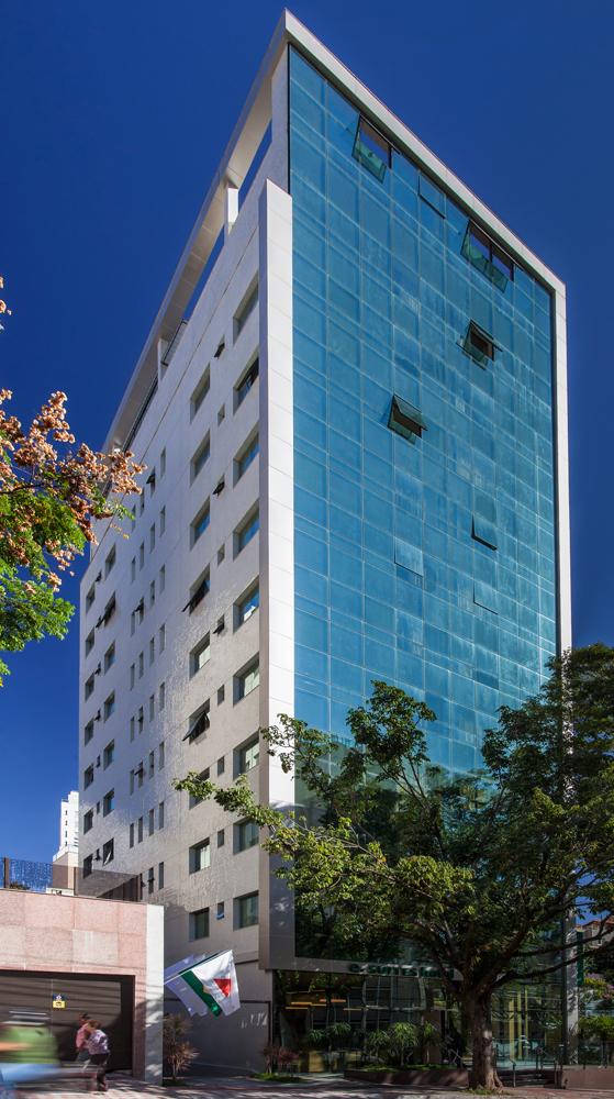 Fotografia de Arquitetura - Hotel e.Suites Sion - Projeto Sito Arquitetura - Fotografia Pedro Sales