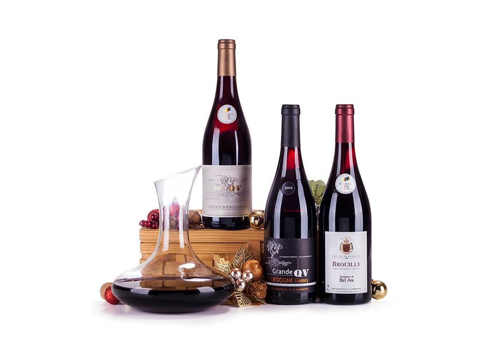 Fotografia de produto - Cesta de Vinhos Borgonha - Foto Pedro Sales- PS Foto Design