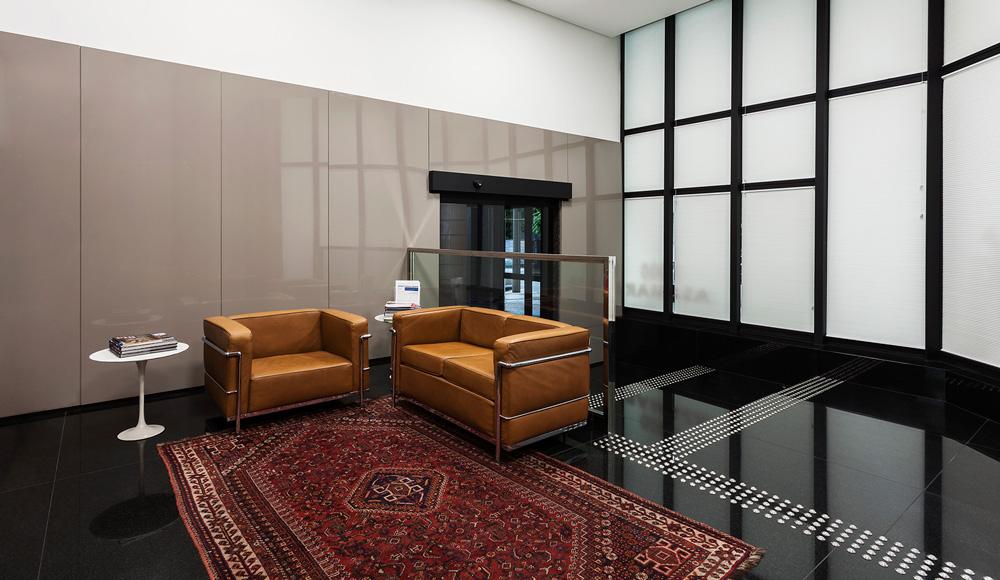 Fotografia de arquitetura da ampliação de escritório de advocacia. Projeto: Sito Arquitetura. Fotografias: Pedro Sales.
