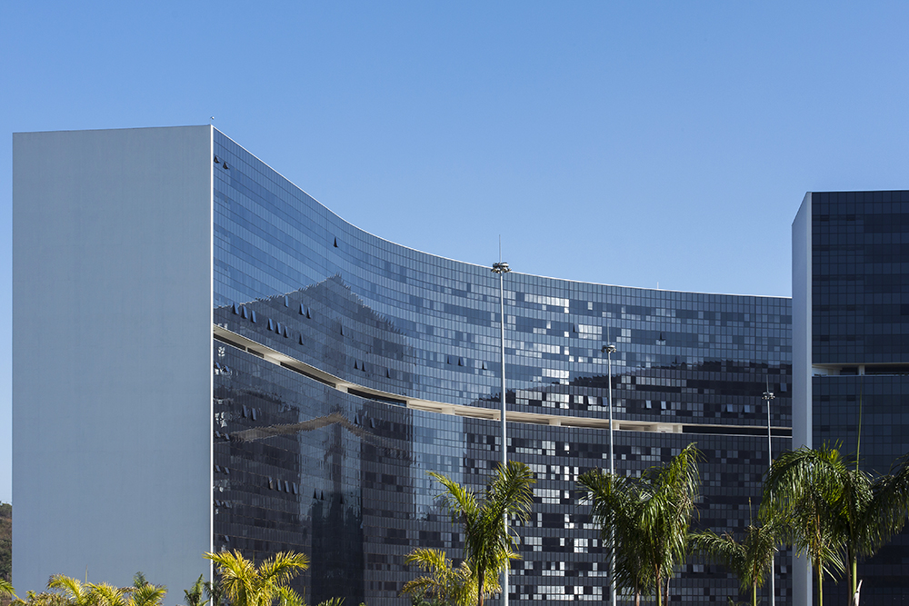 Cidade Administrativa de MG - Fotografia de Arquitetura: Pedro Sales - PS Foto Design