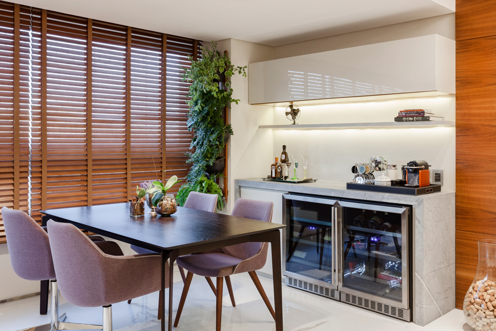 Foto de arquitetura e interiores de apartamento Ed. Reservatto - Projeto RT Arquitetura - Foto Pedro Sales - PS Foto Design